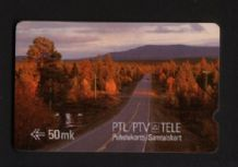 Phonecard 1989 Telephone card D3 Finland rare #289